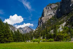 Yosemite and Kings Canyon National Parks.