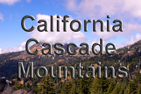 California Cascade Mountains